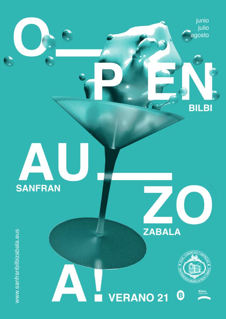 Cartel Open Auzoa
