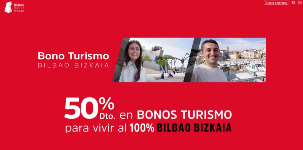Bono turismo bilbao bizkaia