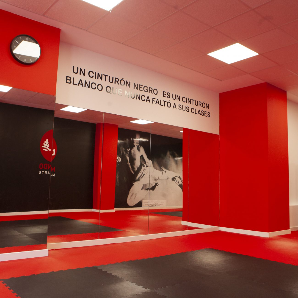 Escuela de artes marciales