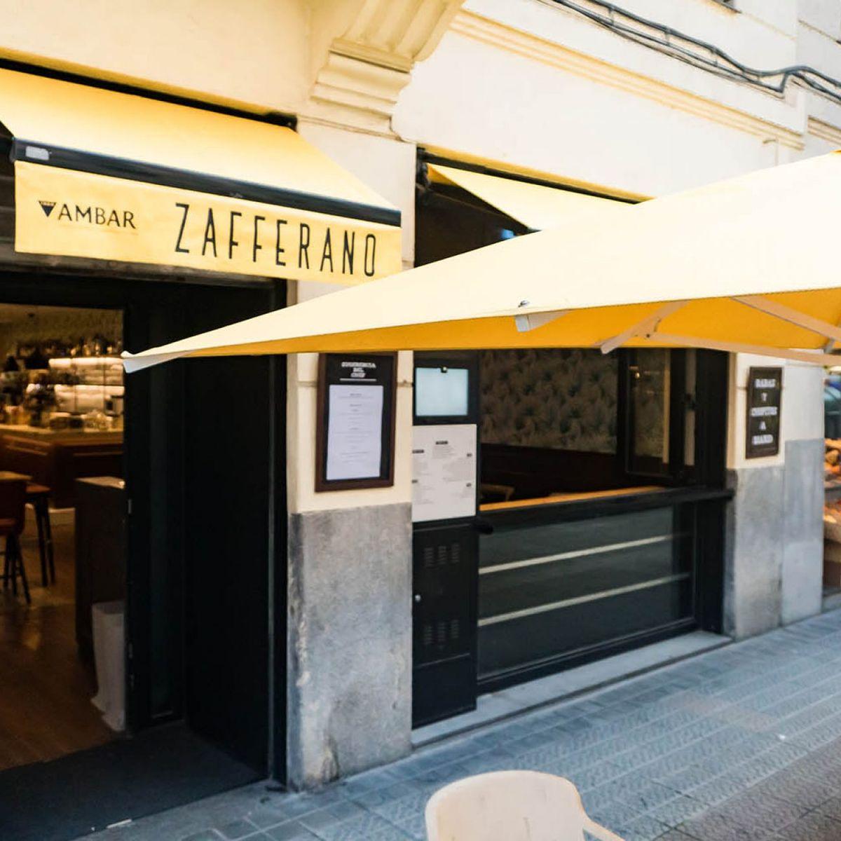 Bar Zafferano en el centro de Bilbao