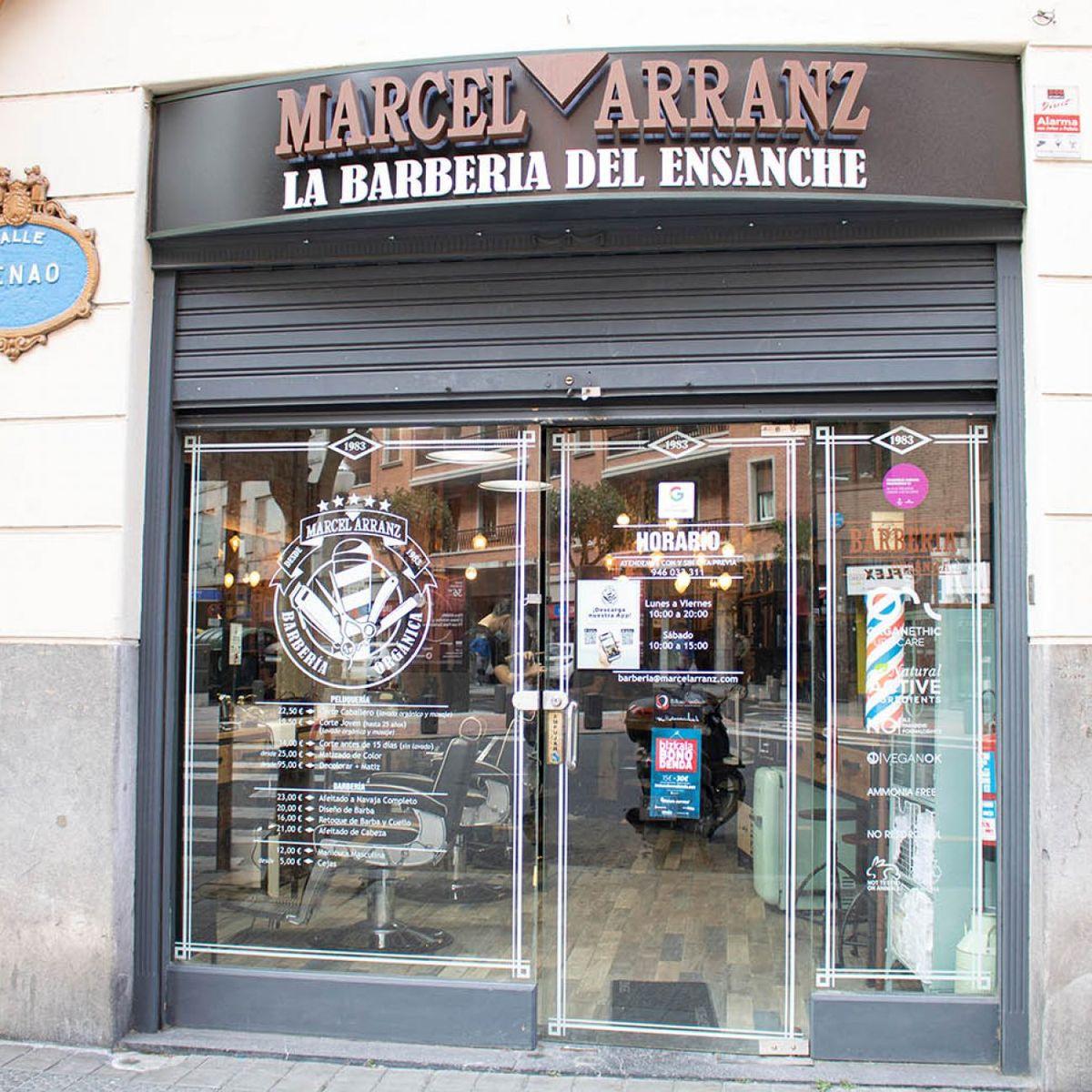 Marcel Arranz La Barberia del Ensanche