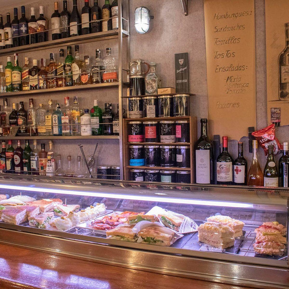 Isipil en el Casco viejo de Bilbao