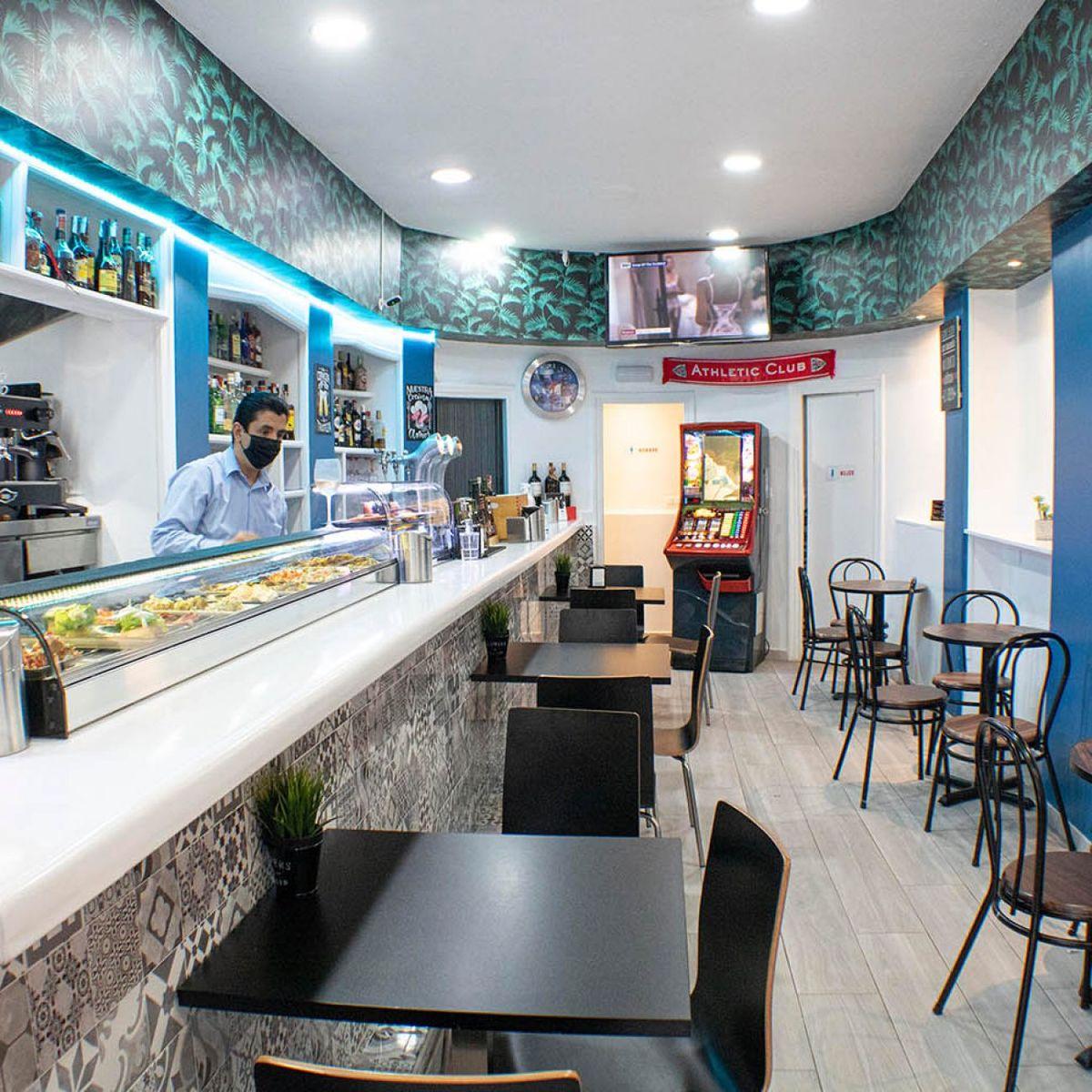 Bar Gayarre en el Casco viejo de Bilbao