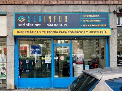 Serinfor, tienda de informática en Santutxu