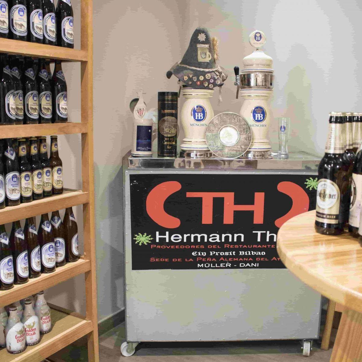Charcutería la Moderna de Hermann Thate, especializada en productos alemanes