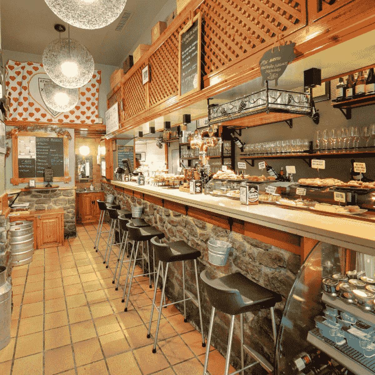 Bar Gaztandegi, especializado en queso