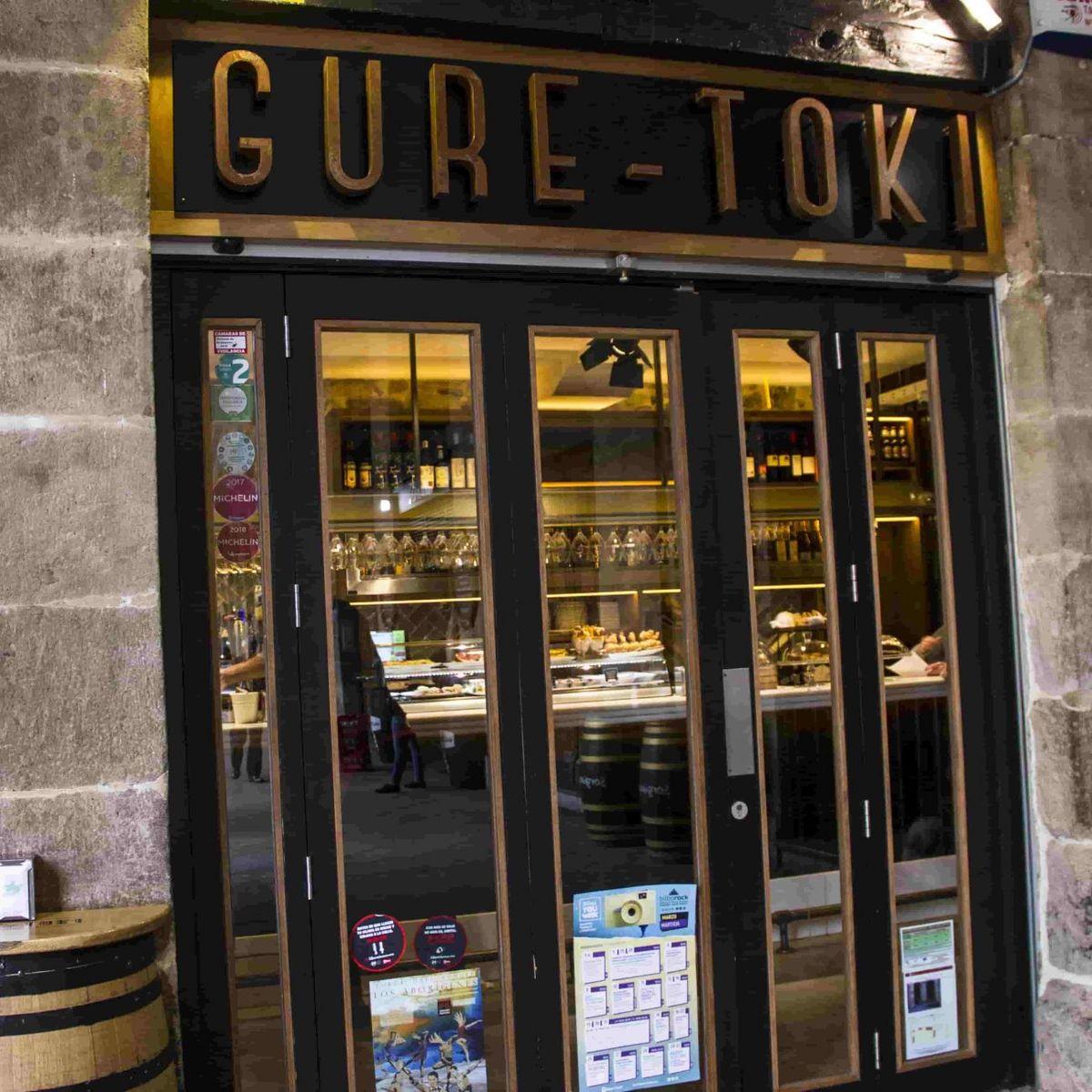 Bar Gure Toki en la Plaza Nueva de Bilbao