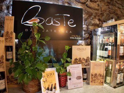 Bar Restaurante Baste en el Casco viejo de Bilbao