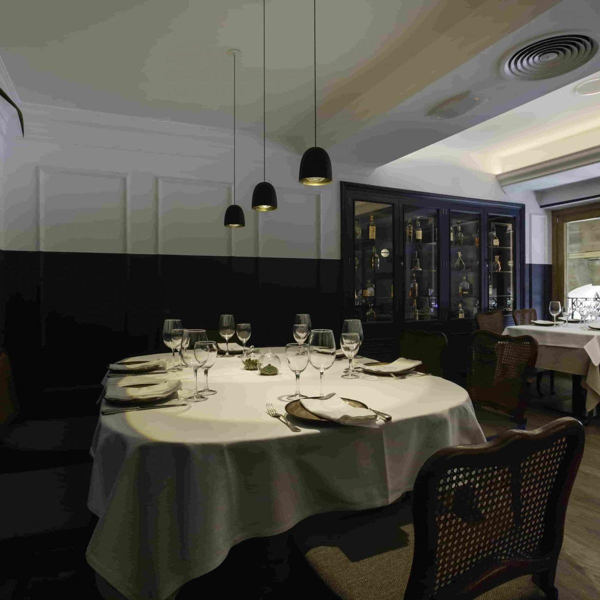 Restaurante Victor en la Plaza Nueva de Bilbao