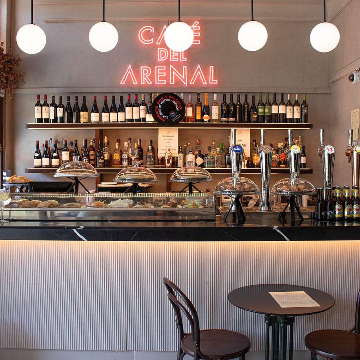 Café Arenal en Bilbao