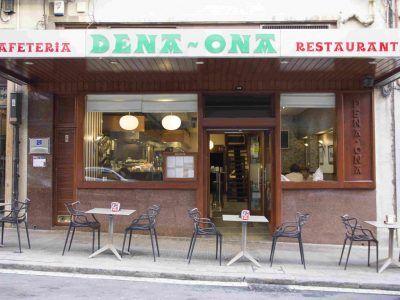 Restaurante cafetería Dena Ona en Deusto