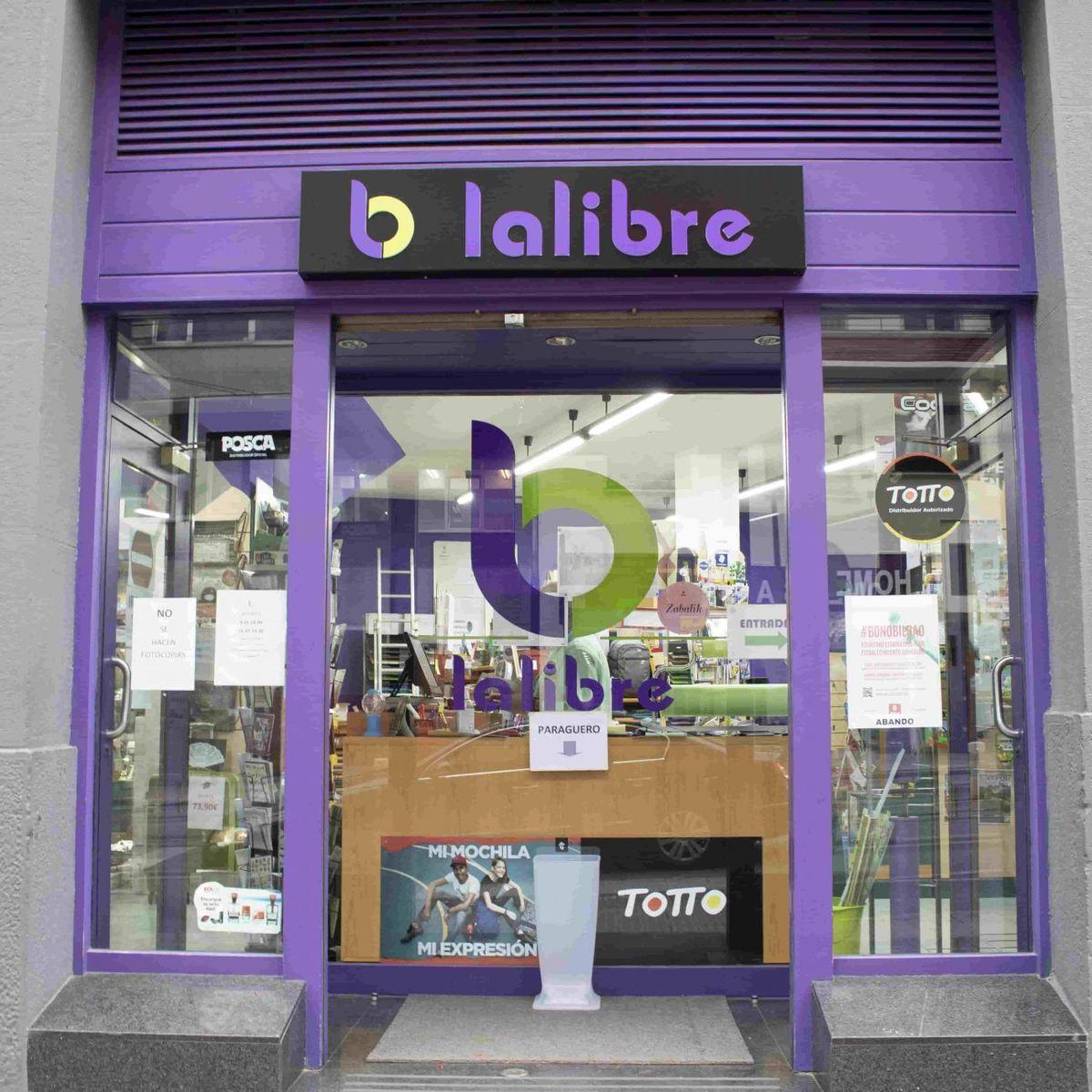 Lalibre, librería en Bilbao