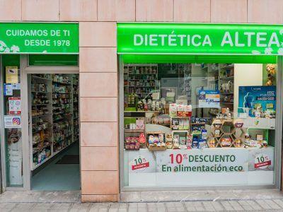 Dietética Altea, herbolario y dietética en Deusto