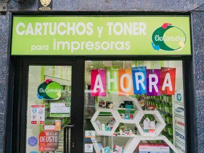 Ekocartuchos, venta de toner de tinta en Deusto