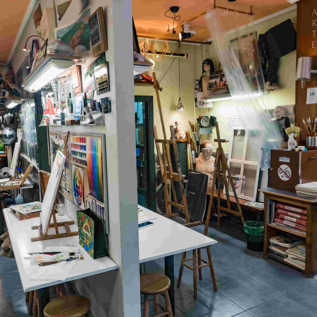 Estudio de dibujo y pintura Iñaki Arce en Deusto