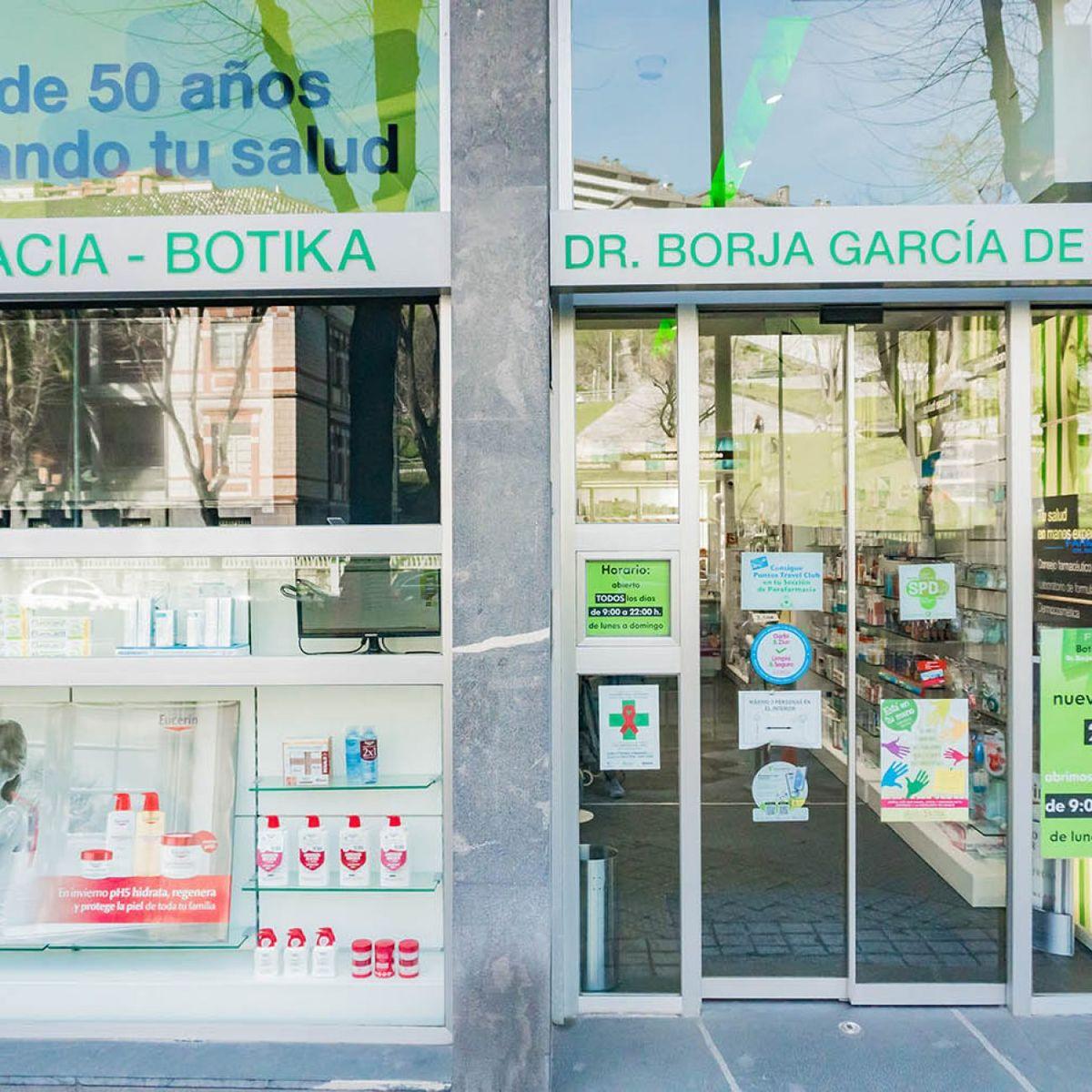 Farmacia Borja Garcia de Bikuña en Deusto
