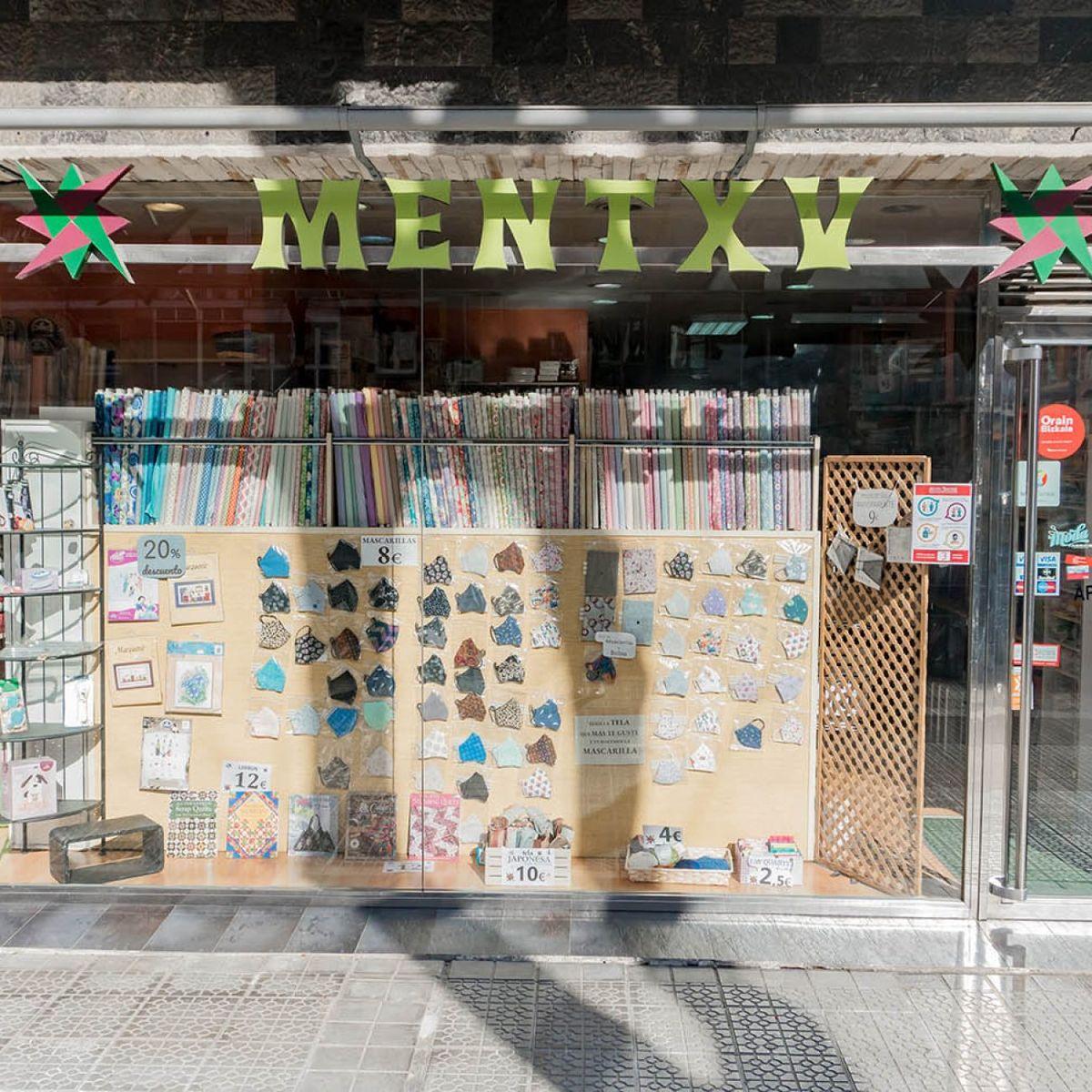 Mercería Mentxu en Deusto, lanas, hilos...