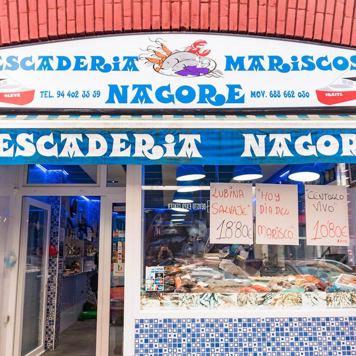 Pescadería y mariscos Nagore