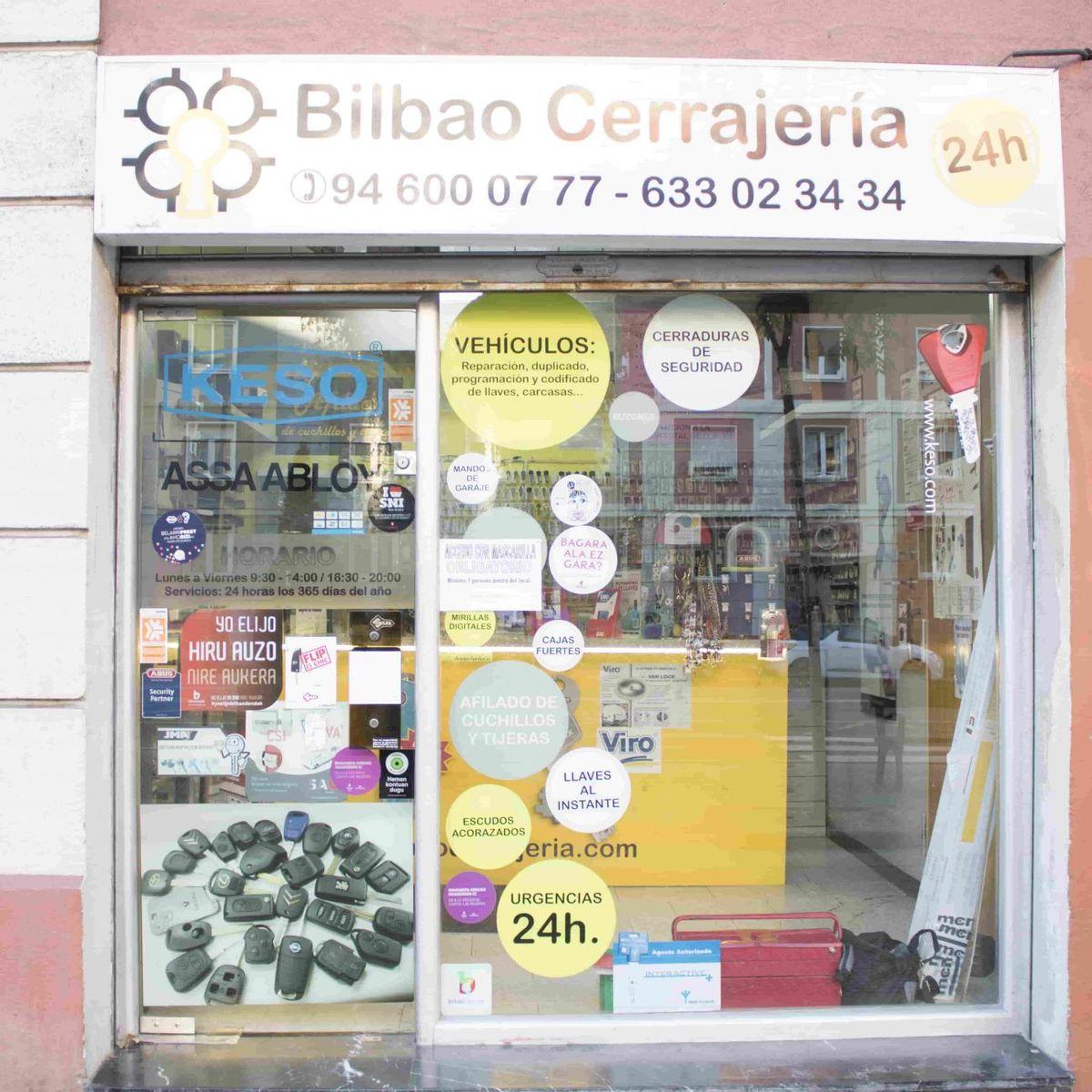Bilbao Cerrajería, apertura e instalación de cerraduras