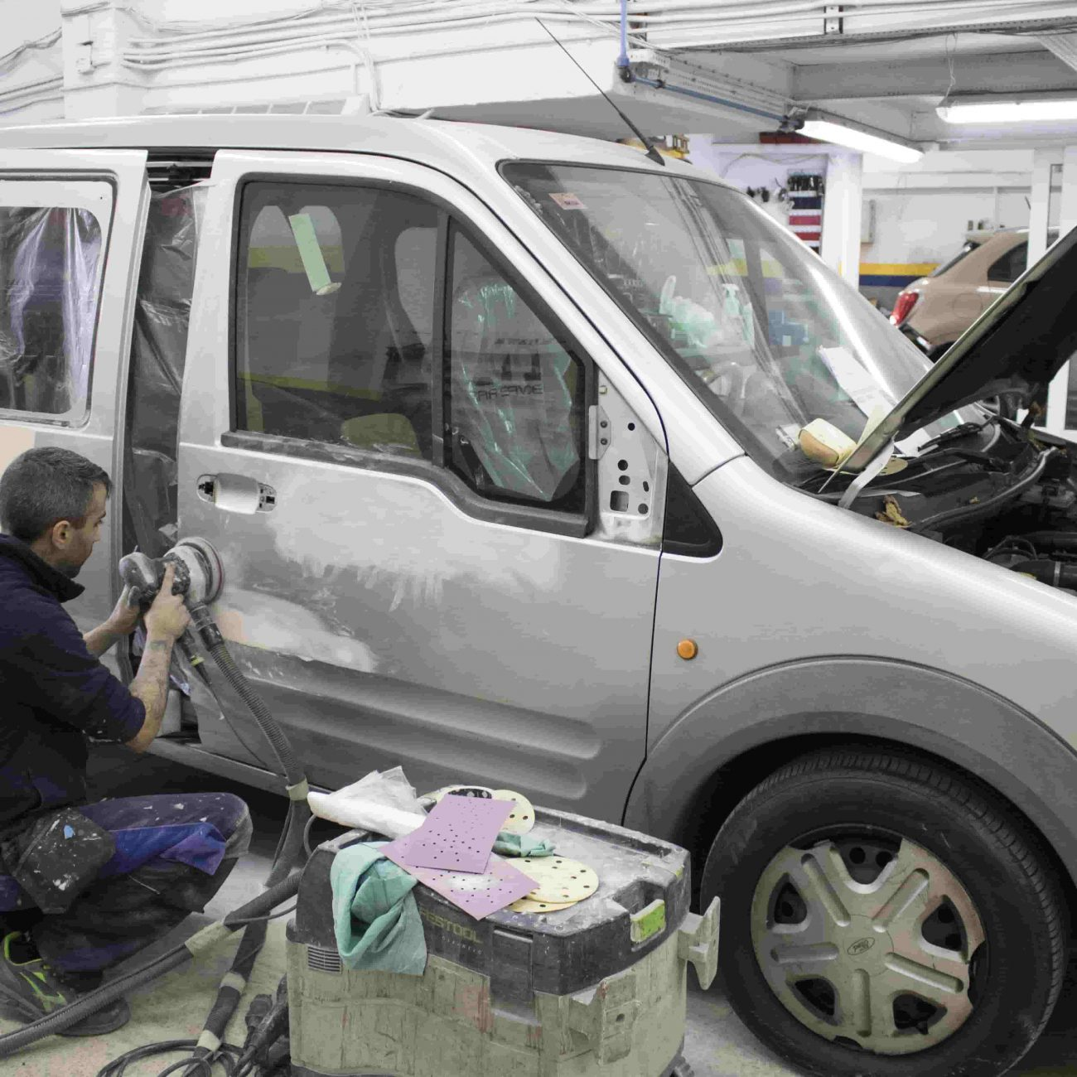 Carrocerias San Ignacio, reparación integral de vehículos