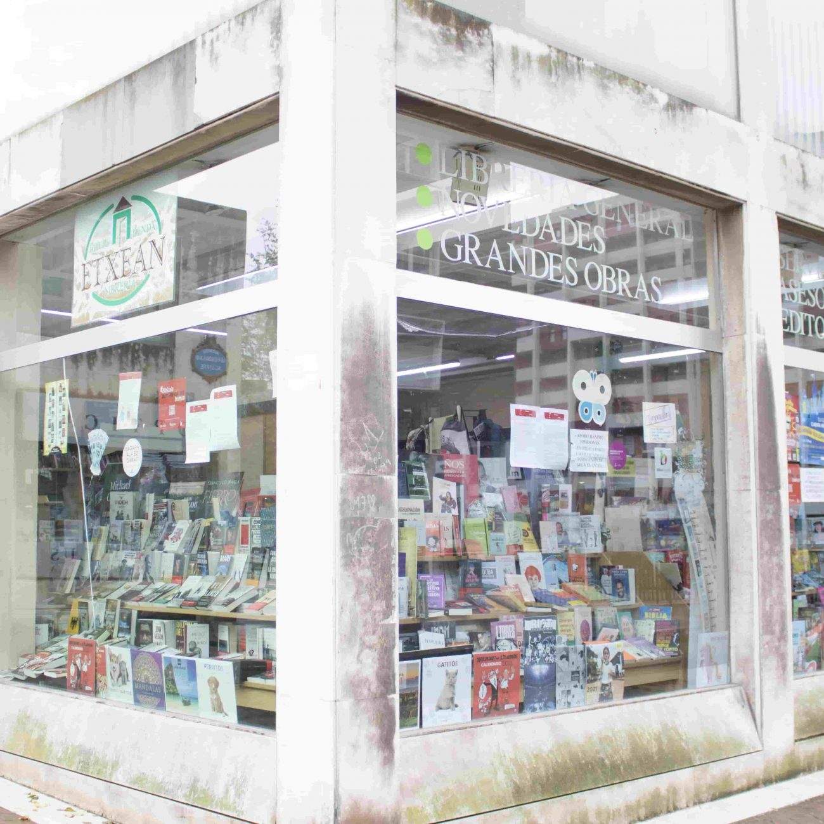 Librería Etxean en San Ignacio, Bilbao