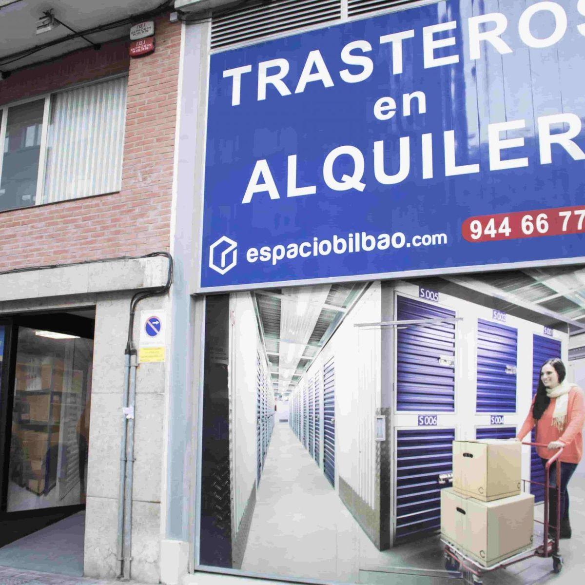 Espacio Bilbao, alquiler de trasteros y mini almacenes