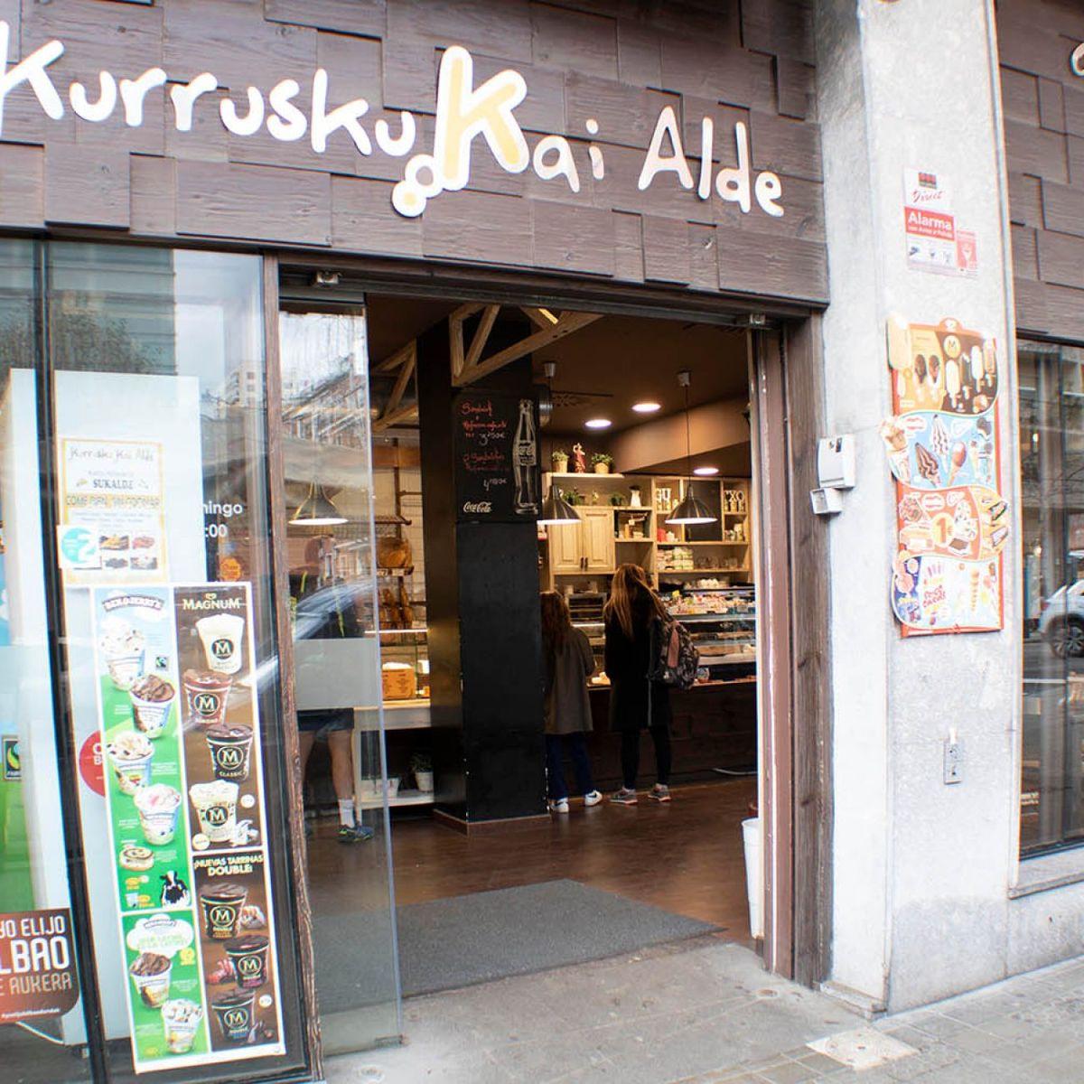 Kurrusku Kai Alde panaderia pastelería en Bilbao