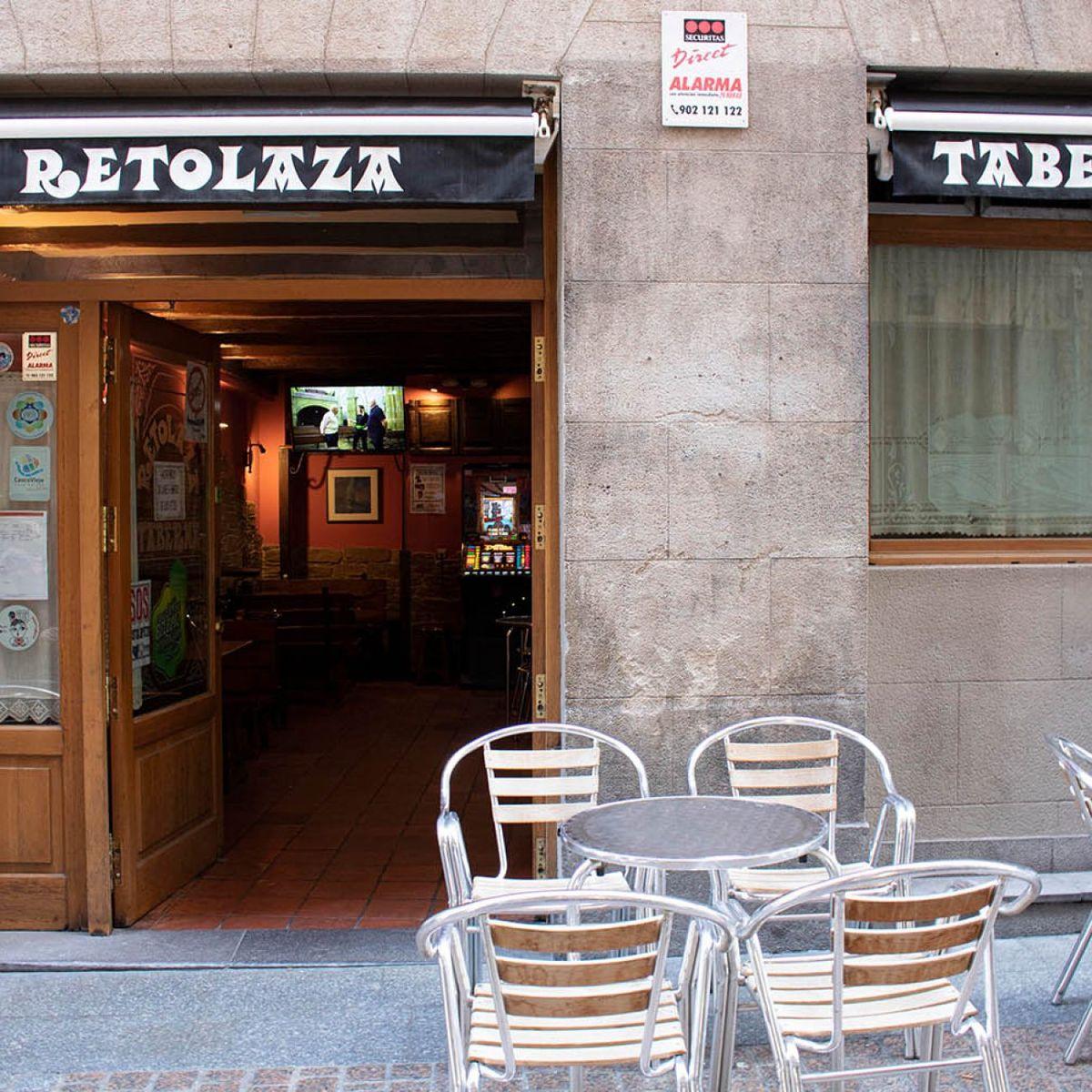 Taberna Retolaza en Bilbao