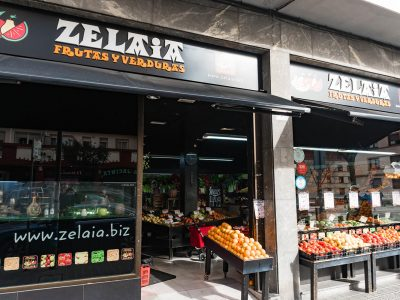 Frutas y verduras Zelaia en Deusto