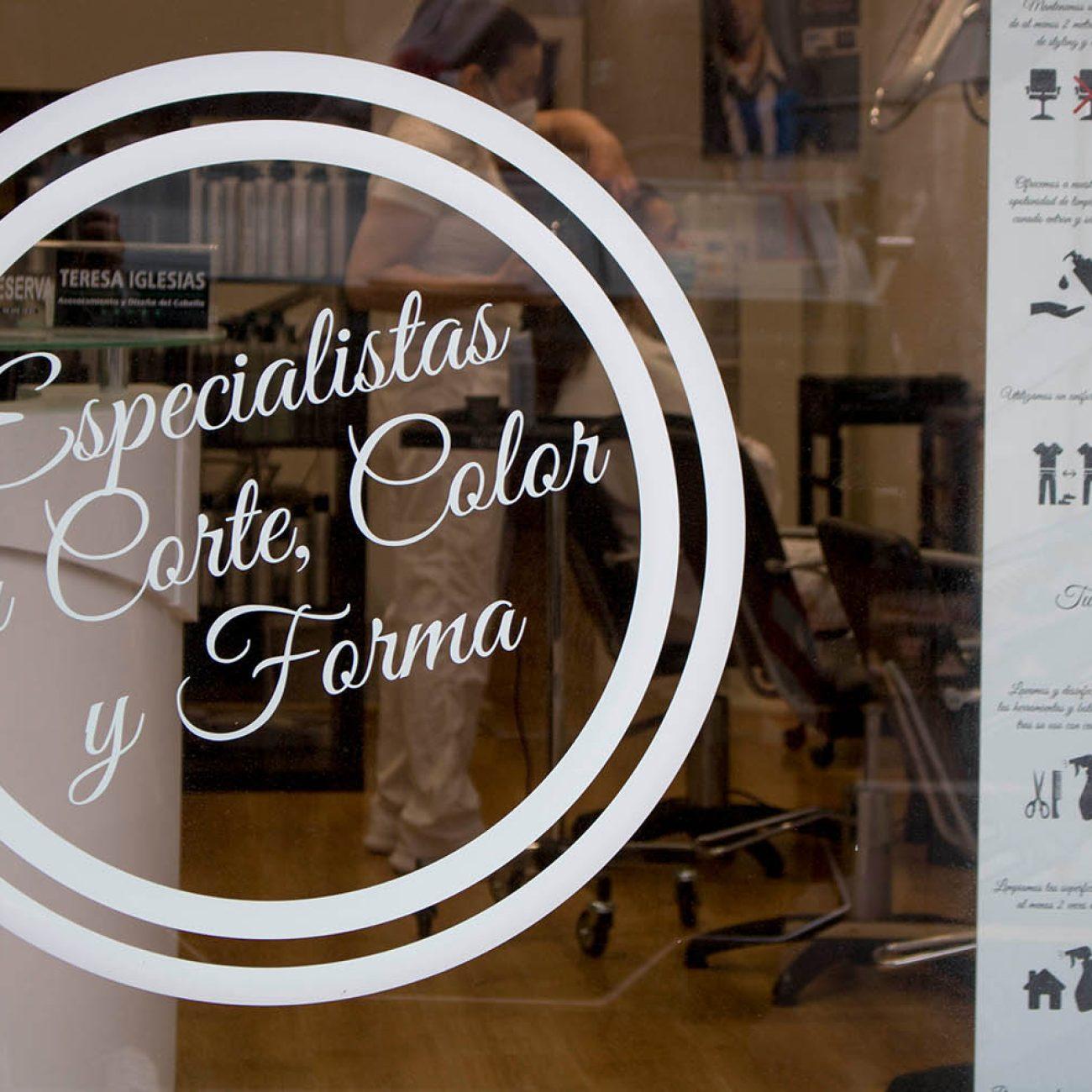 Teresa Iglesias peluquería, asesoramiento y diseño del cabello