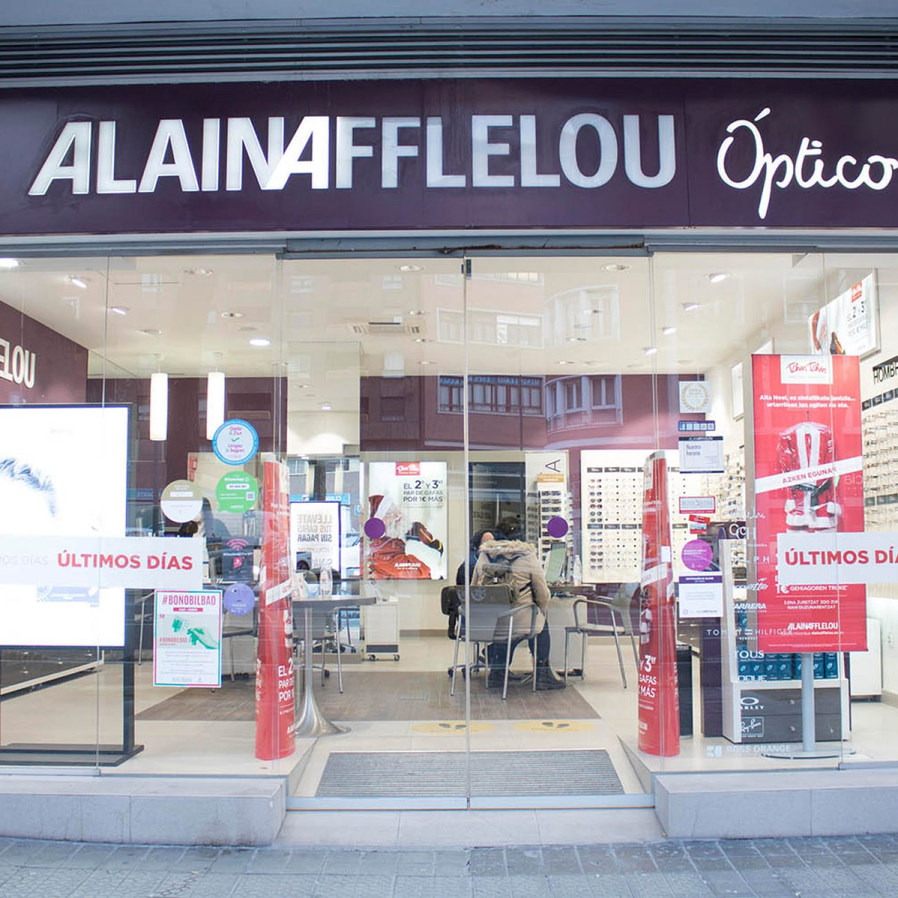 Alain Afflelou, óptica en Deusto