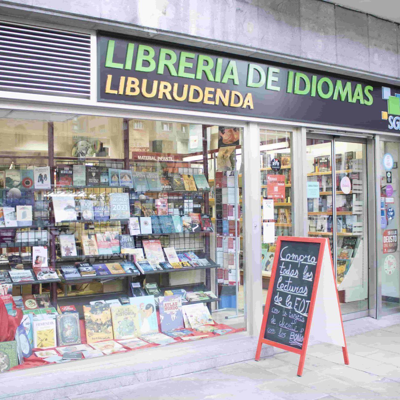 Librería de idiomas en Deusto
