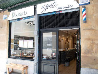 La barbería del norte ubicada en Bilbao