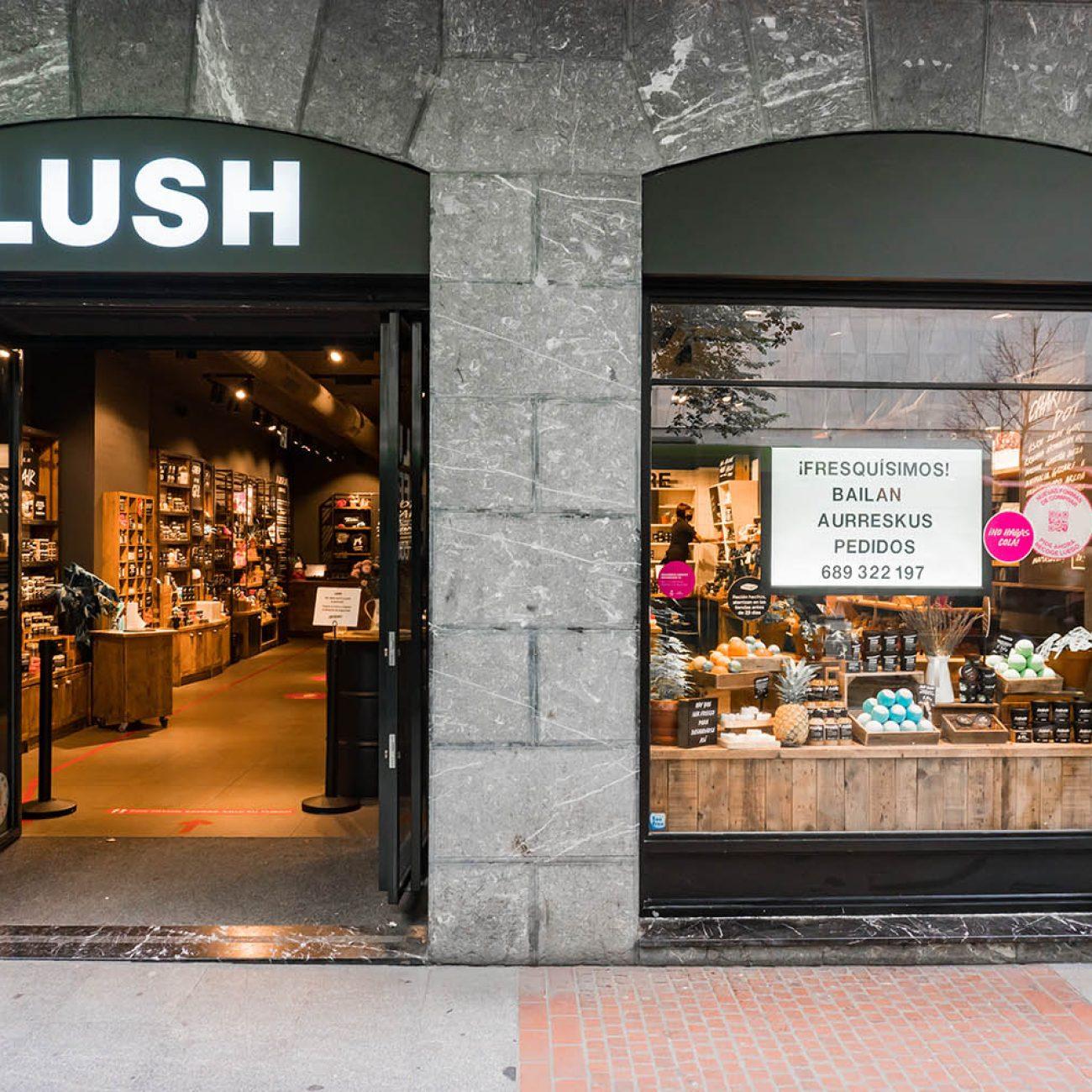 Lush cosmetic