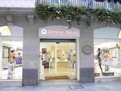 General Óptica en el Casco Viejo de Bilbao