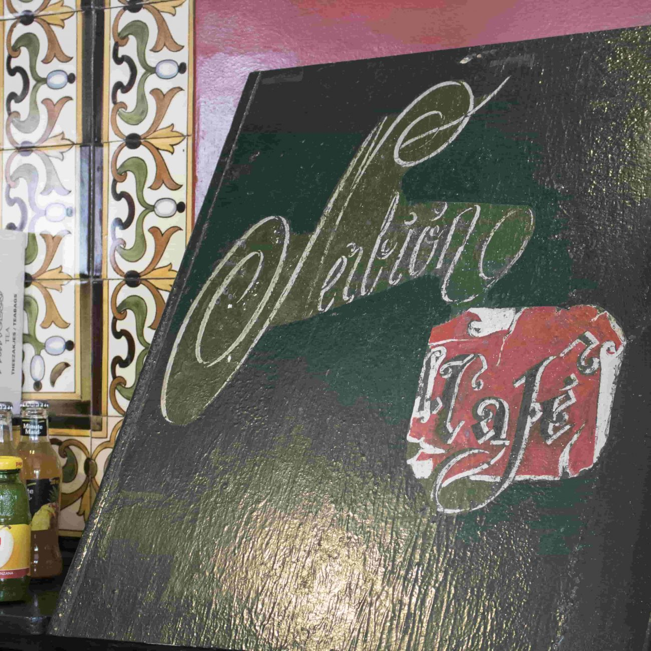 Café Nervion el el barrio de Bilbao La Vieja