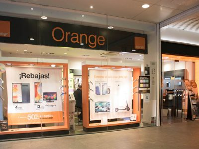 Orange, servicios de telefonía en Bidarte