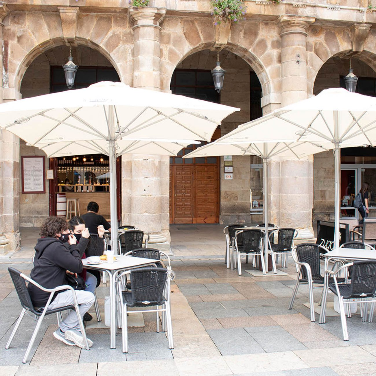 Iturriza taberna en la Plaza Nueva de Bilbao