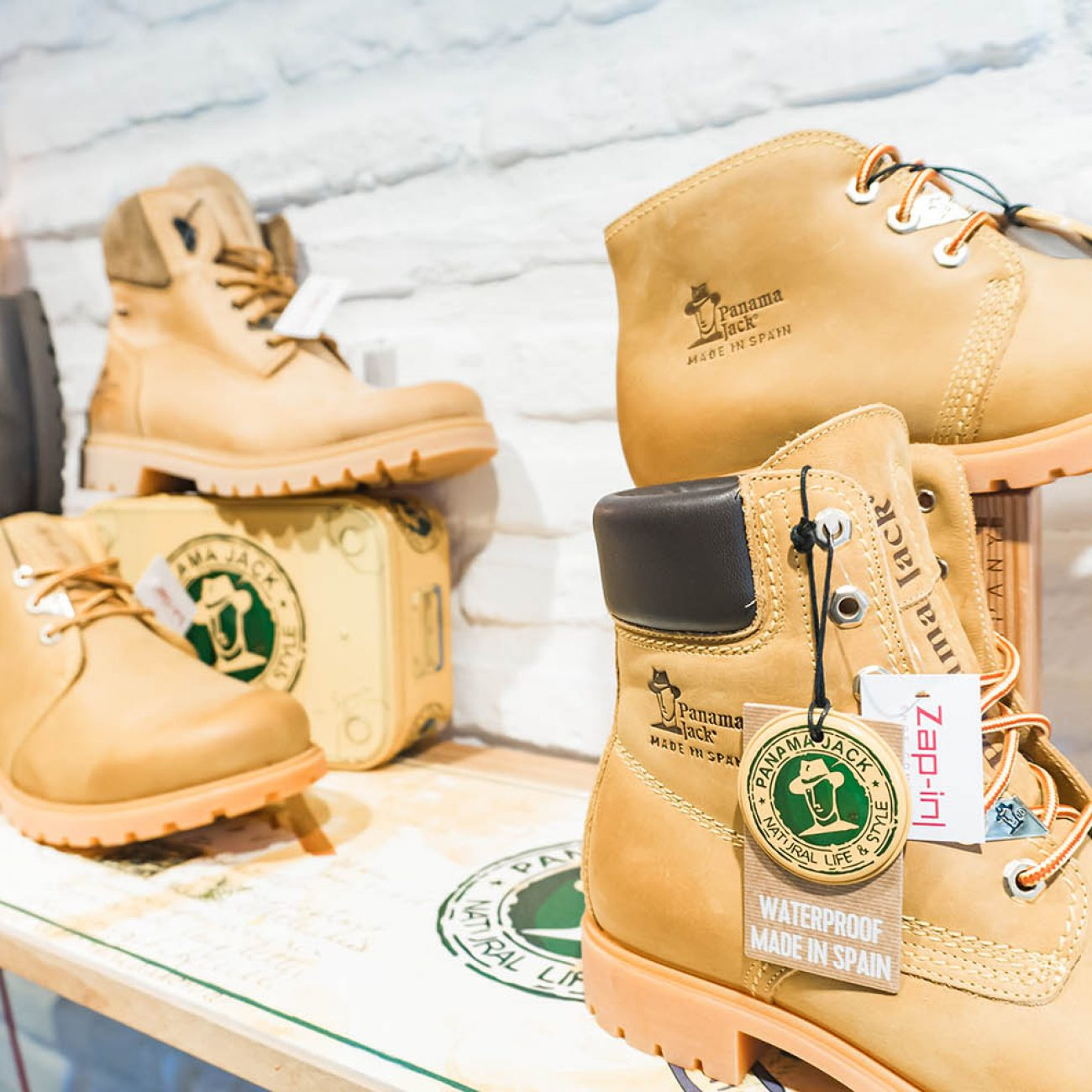 ZAP-IN SHOES COMPANY