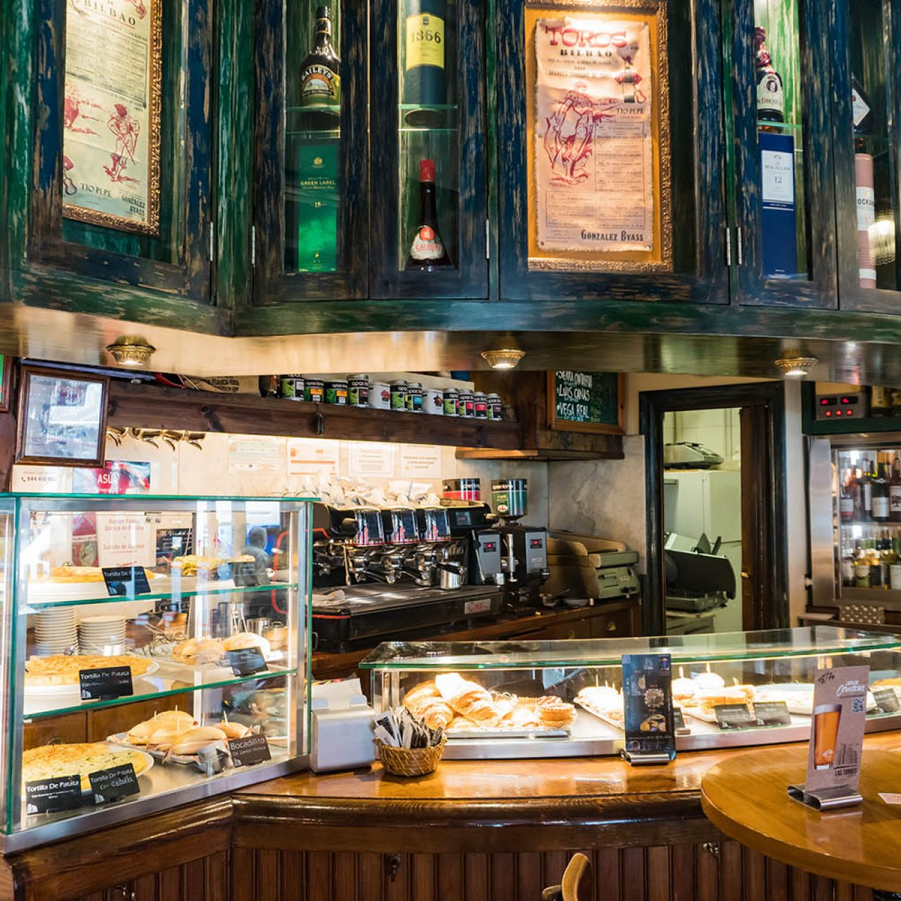 CAFE BAR LAS TORRES EN BILBAO