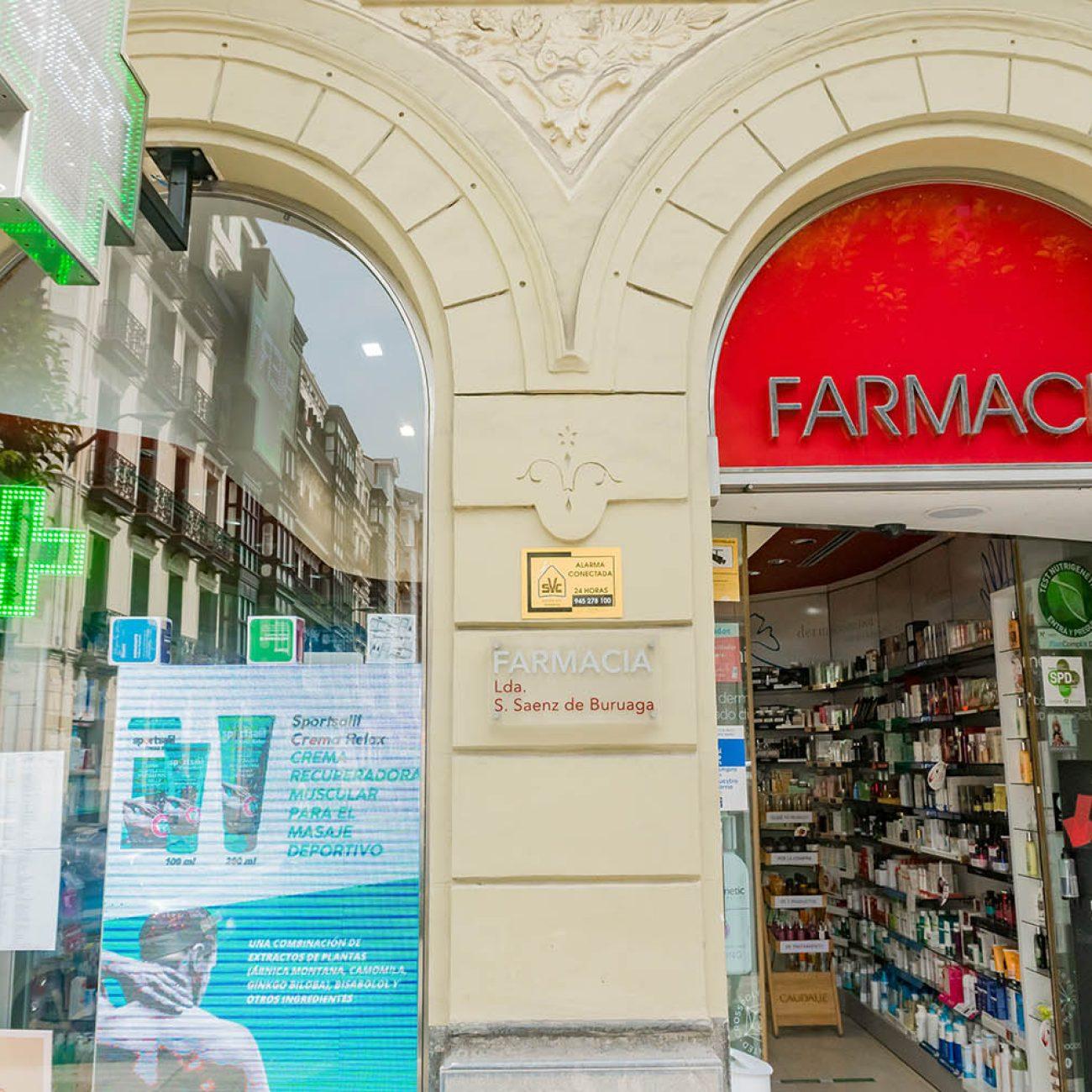 FARMACIA SAENZ DE BURUAGA EN BILBAO