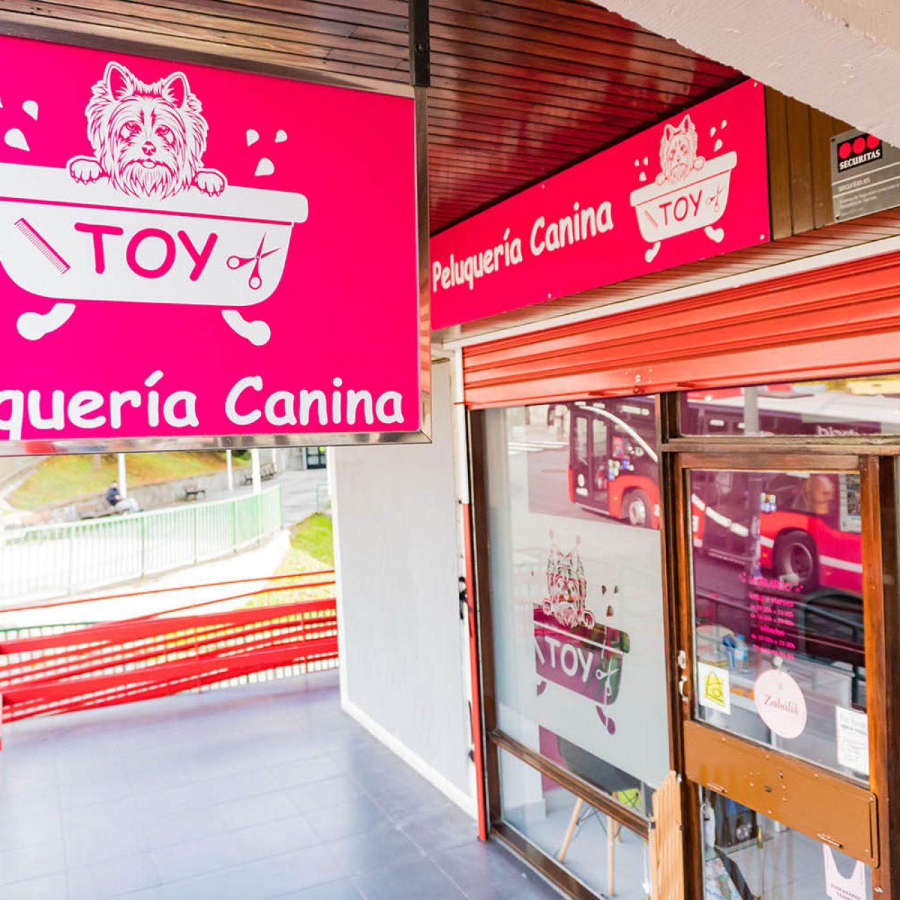 PELUQUERIA CANINA TOY