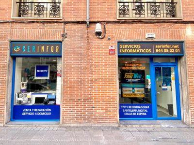 Tienda de informática Serinfor en Bilbao